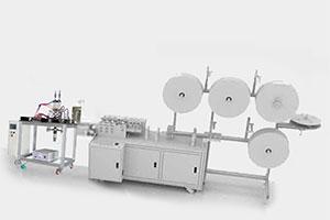Semi Auto face mask machine production