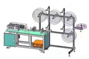 How much is a mask making machine price 9