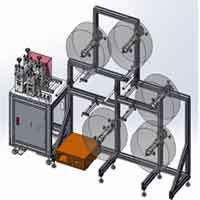 How much is a mask making machine price 19