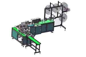 Automatic face making machine BF407