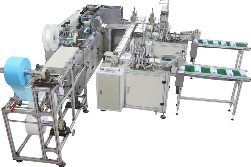 About face mask machine manufacturer Precision Technology 6