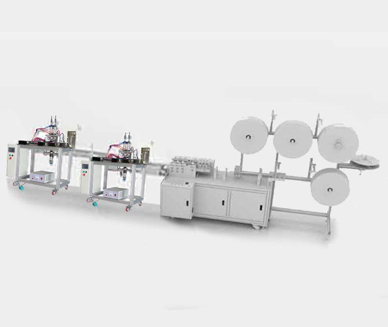 Semi Auto face mask machine production sets